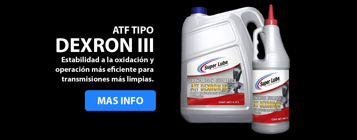Aceite para transmision automatica Super Lube